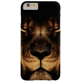 Coque Barely There iPhone 6 Plus Art africain de visage de lion