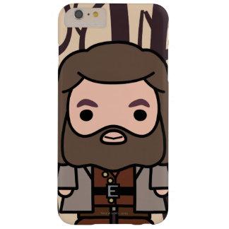 Coque Barely There iPhone 6 Plus Art de personnage de dessin animé de Hagrid