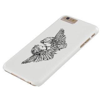 COQUE BARELY THERE iPhone 6 PLUS BAISERS DU CAS DE TÉLÉPHONE PORTABLE DE
