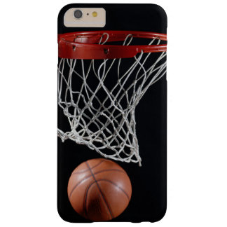 Coque Barely There iPhone 6 Plus Basket-ball dans le cercle