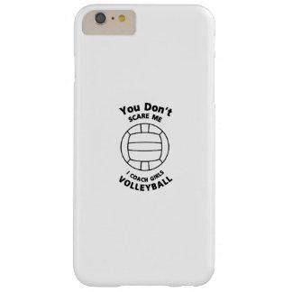 Coque Barely There iPhone 6 Plus Cadeau drôle d'entraîneur de volleyball vous ne