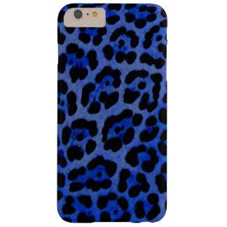 Coque Barely There iPhone 6 Plus Caisse bleue de Jaguar
