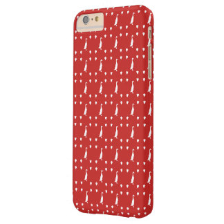Coque Barely There iPhone 6 Plus Canard de course, rouge