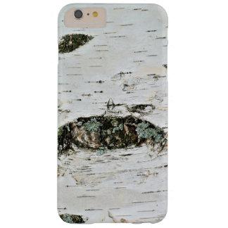 Coque Barely There iPhone 6 Plus Cas de téléphone de nature en bois de bouleau