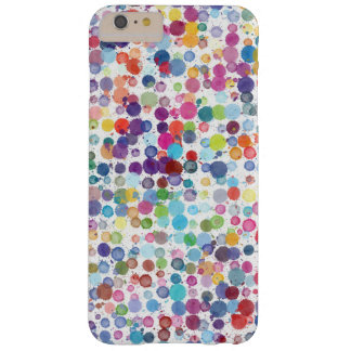 Coque Barely There iPhone 6 Plus Cas de téléphone de Pixly de point de polka