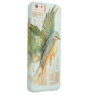 Coque Barely There iPhone 6 Plus Cas pour aquarelle de téléphone d'art de zodiaque