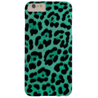 Coque Barely There iPhone 6 Plus Cas turquoise de Jaguar