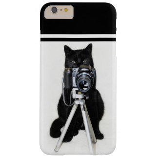 Coque Barely There iPhone 6 Plus Chat avec l'appareil-photo