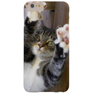 Coque Barely There iPhone 6 Plus Chat s'étirant, à l'intérieur