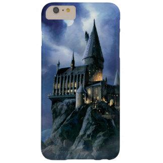 Coque Barely There iPhone 6 Plus Château | Hogwarts éclairé par la lune de Harry