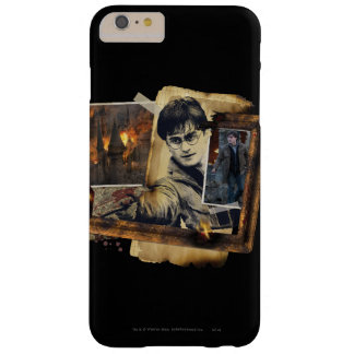 Coque Barely There iPhone 6 Plus Collage 7 de Harry Potter