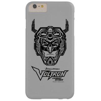Coque Barely There iPhone 6 Plus Contour rompu par tête de Voltron | Voltron
