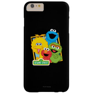 Coque Barely There iPhone 6 Plus Copains de Sesame Street