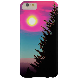 Coque Barely There iPhone 6 Plus Coucher du soleil en pastel