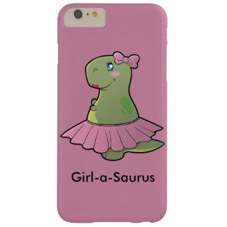 Coque Barely There iPhone 6 Plus Couverture de téléphone de T-Rex de dinosaure de
