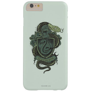 Coque Barely There iPhone 6 Plus Crête de Harry Potter | Slytherin