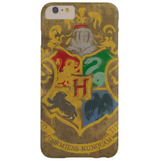 Coque Barely There iPhone 6 Plus Crête rustique de Harry Potter | Hogwarts