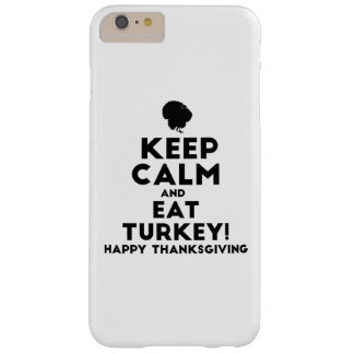 Coque Barely There iPhone 6 Plus Dinde de thanksgiving de thanksgiving