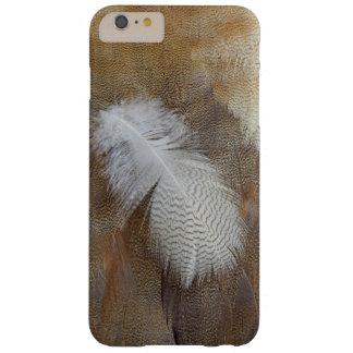 Coque Barely There iPhone 6 Plus D'oie de plume toujours la vie