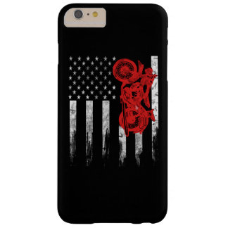 Coque Barely There iPhone 6 Plus Drapeau de motocross