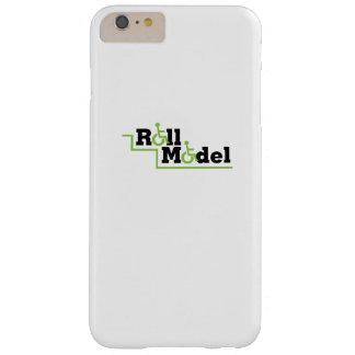 Coque Barely There iPhone 6 Plus Fauteuil roulant modèle de cadeau de conscience