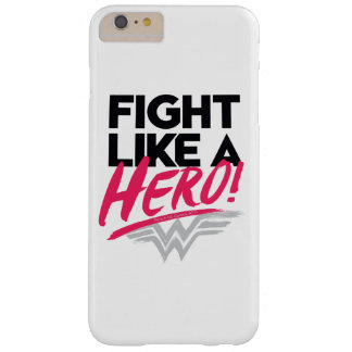 Coque Barely There iPhone 6 Plus Femme de merveille - combat comme un héros