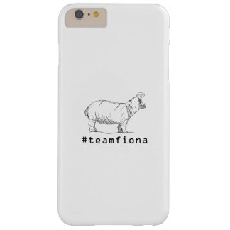 Coque Barely There iPhone 6 Plus Fiona l'hippopotame de #teamfiona d'hippopotame de