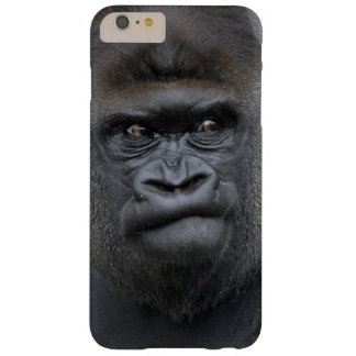 Coque Barely There iPhone 6 Plus Flachlandgorilla, gorille de gorille,