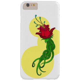 Coque Barely There iPhone 6 Plus Fleur sur le jaune