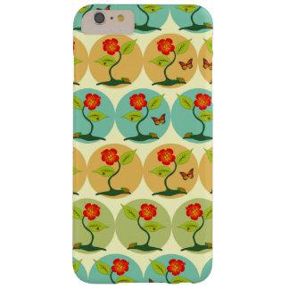 Coque Barely There iPhone 6 Plus Fleurs et motif de bulles