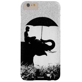 Coque Barely There iPhone 6 Plus iPhone 6/6s d'art de pluie d'éléphant plus à peine