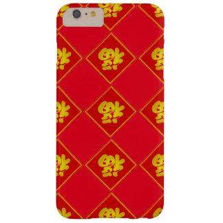 Coque Barely There iPhone 6 Plus iPhone chinois 6/6S de bonne chance de nouvelle