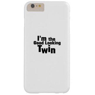Coque Barely There iPhone 6 Plus Jumeau drôle je suis les cadeaux jumeaux beaux