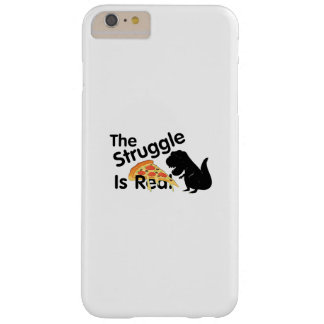 Coque Barely There iPhone 6 Plus le dinosaure T Rex le Struggl est vraie pizza