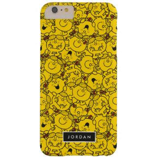 Coque Barely There iPhone 6 Plus Le motif   de sourires de jaune d'amusement