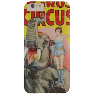 Coque Barely There iPhone 6 Plus Le nounours du cirque de frères de Cole l'éléphant
