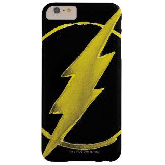 Coque Barely There iPhone 6 Plus L'emblème | jaune instantané de coffre