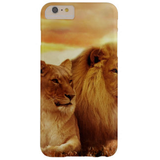 Coque Barely There iPhone 6 Plus Lions africains - safari - faune