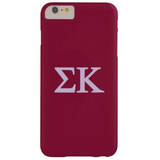 Coque Barely There iPhone 6 Plus Logo de Lil de Kappa de sigma grand