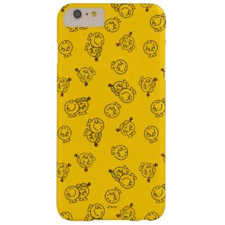 Coque Barely There iPhone 6 Plus M. Happy et petit motif jaune de Mlle Sunshine  