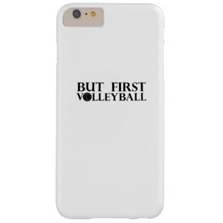 Coque Barely There iPhone 6 Plus Mais premier volleyball - volleyball drôle