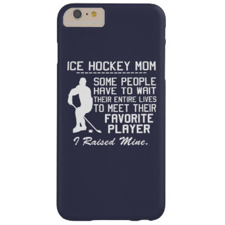COQUE BARELY THERE iPhone 6 PLUS MAMAN DE HOCKEY SUR GLACE