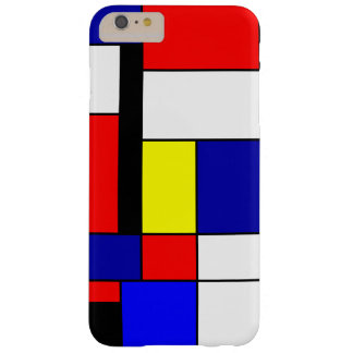 Coque Barely There iPhone 6 Plus Mondrian #42