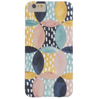 Coque Barely There iPhone 6 Plus Motif abstrait de cercle