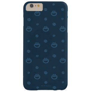 Coque Barely There iPhone 6 Plus Motif bleu de monstre de biscuit et de marine de