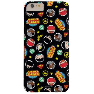 Coque Barely There iPhone 6 Plus Motif de héros et de logos de ligue de justice de