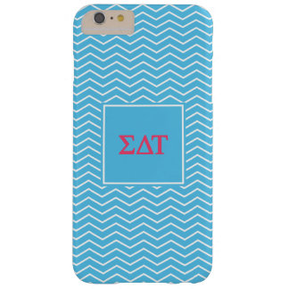 Coque Barely There iPhone 6 Plus Motif de Tau | Chevron de delta de sigma