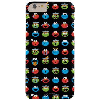Coque Barely There iPhone 6 Plus Motif d'Emoji de copains de Sesame Street
