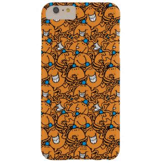 Coque Barely There iPhone 6 Plus Motif orange de chatouillement de M. Tickle  
