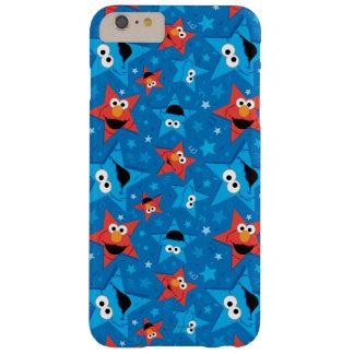 Coque Barely There iPhone 6 Plus Motif patriotique d'Elmo et de monstre de biscuit